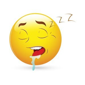 smiley emoticons face vector sleeping expression 7JcYT  L